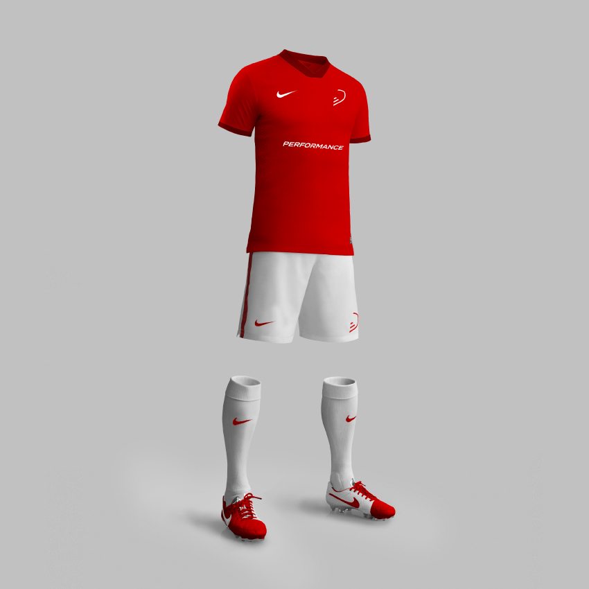 A2B Performance Brand Football Kit by Nous Digital in Gloucester