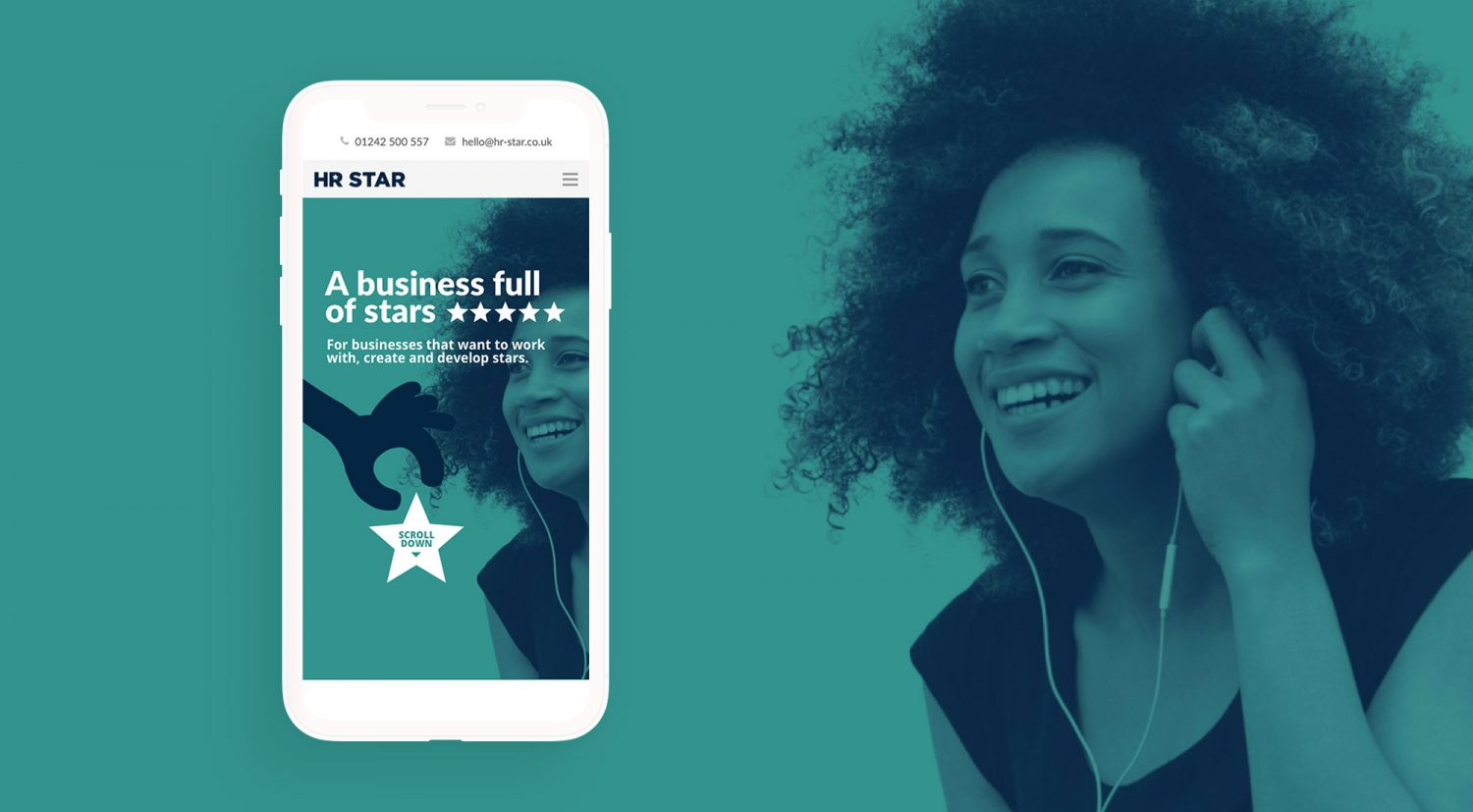 HR Star Portfolio Image by Nous Digital Gloucester