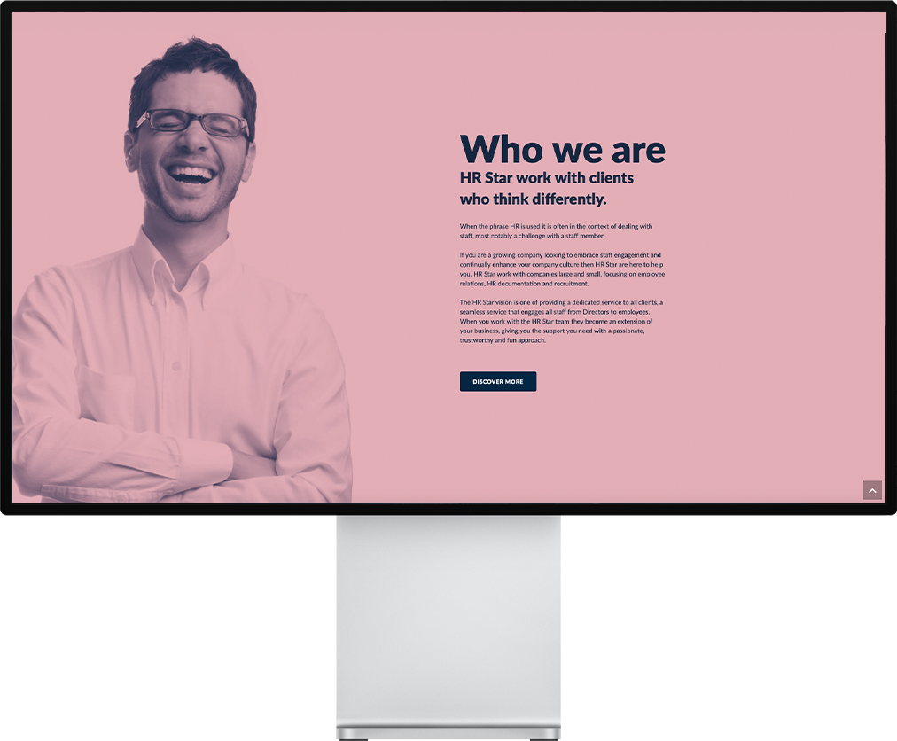 HR Star Who We Are Website Design by Nous Digital in Gloucester
