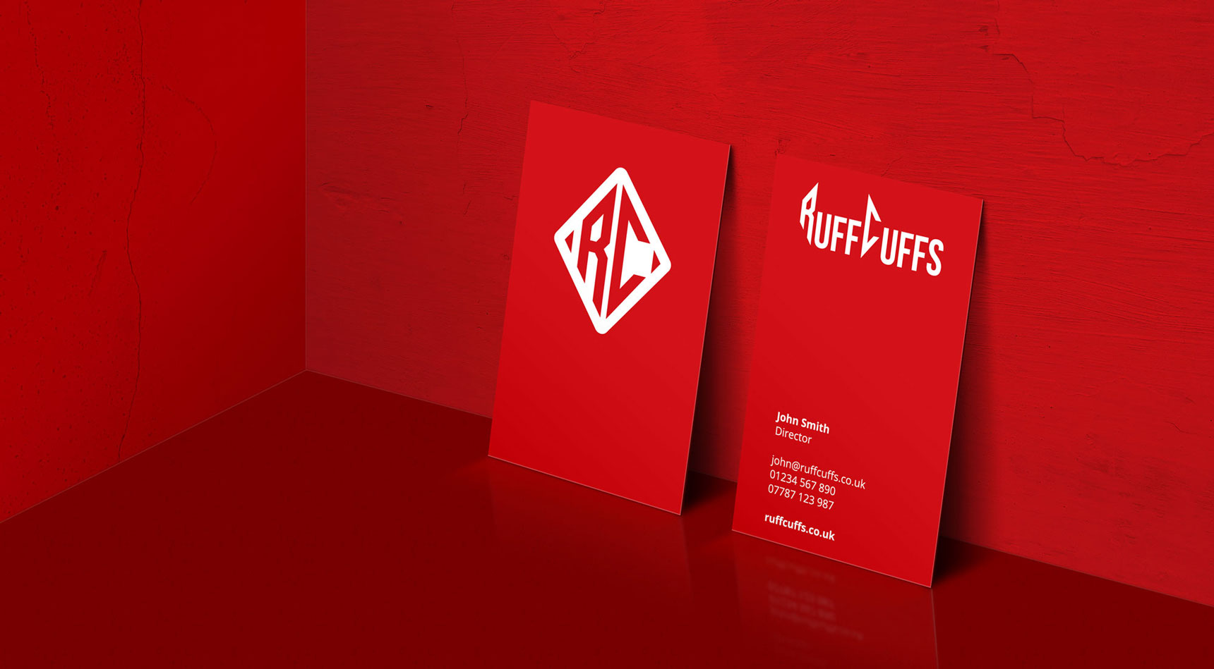 Ruff Cuffs Business Card Design and Branding by Nous Digital Gloucester