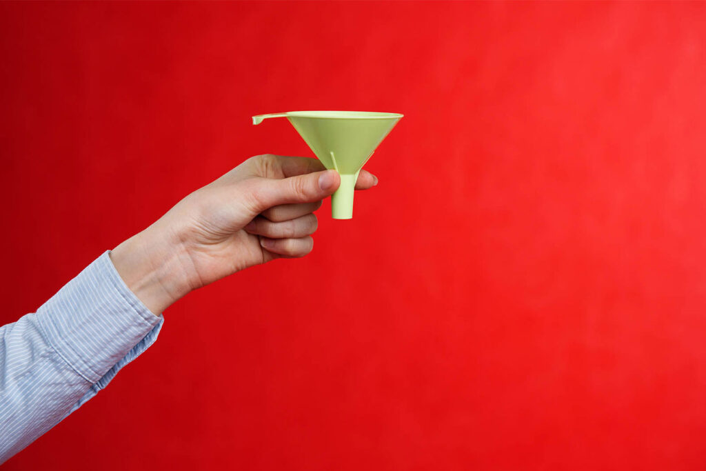 Marketing funnels - An Introduction to the basics by Nous Digital Gloucester