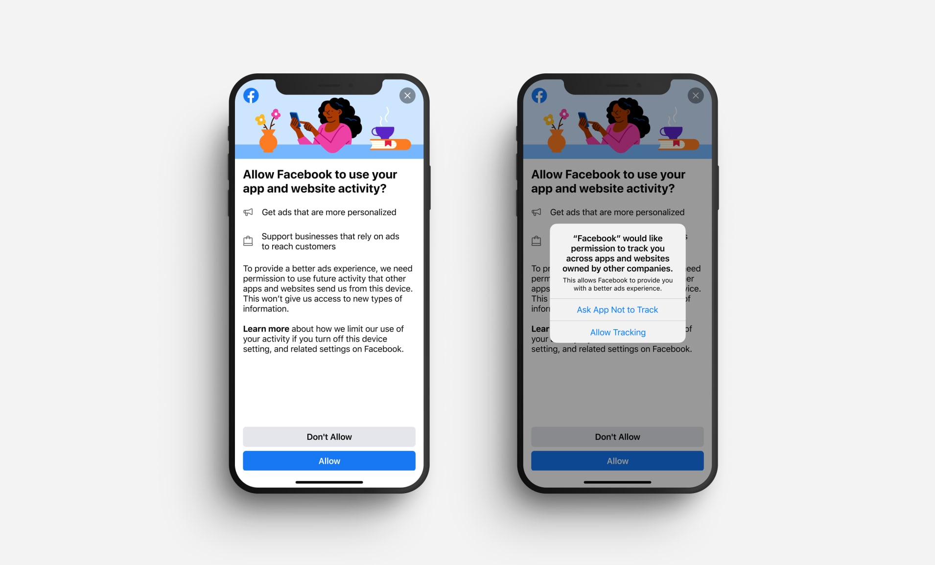 Facebook Is Gaslighting Users Into Allowing Ad Tracking on iOS 14 Devices